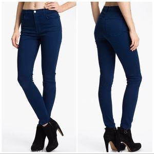 'Maria' High Rise Skinny Stretch Jeans